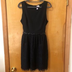 Alya Black Lace Dress